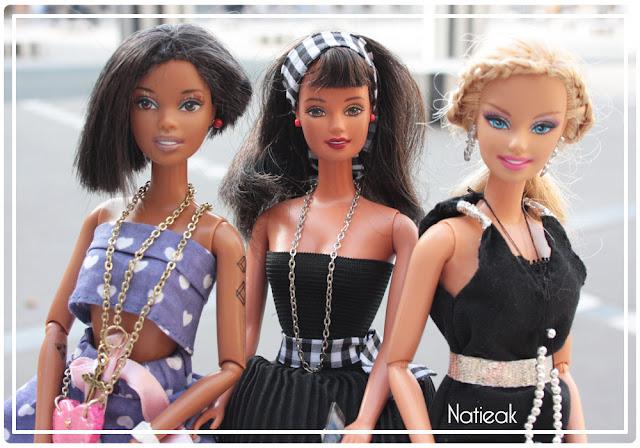 DIYcouture  Barbie geek aux colonnes de Buren