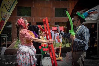 actriz raquel martínez, angosta di mente, clown, teatro de calle, SER ACTRIZ, SER PAYASA