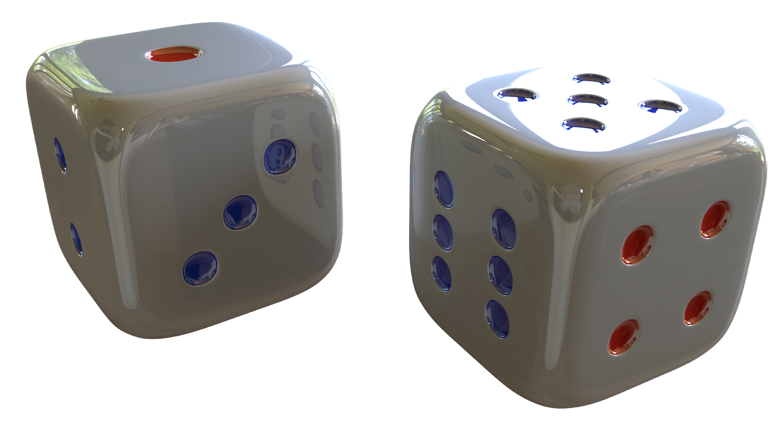 Free 3D Dice CC0 3DS - Free 3D Models Under Public Domain