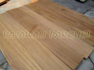 Macam-macam kayu yang digunakan untuk lantai kayu parket dan flooring
