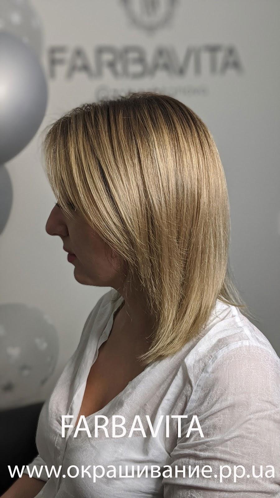 Модная покраска волос шатуш на короткие волосы