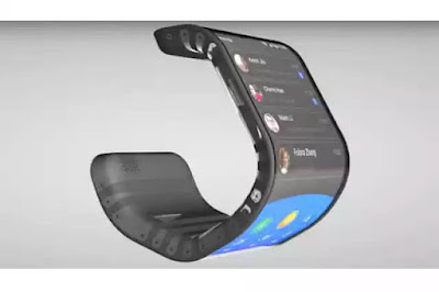 7 Strange Looking Phones in the World with amazing Features, Moxi Bendable Phone