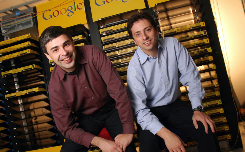 google founders larry page and sergey brin
