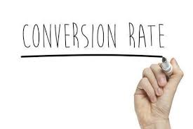 user conversion rate