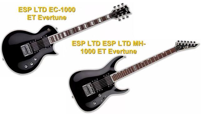 Guitarras Eléctricas con Sistema Evertune