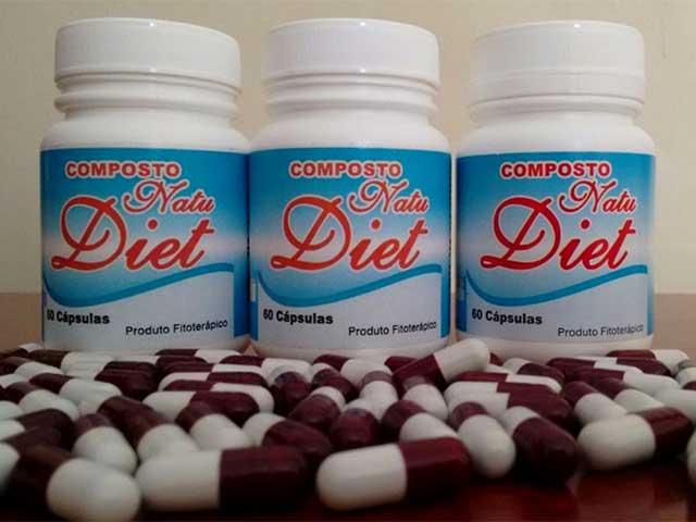 Composto Natu Diet. Foto: Reprodução