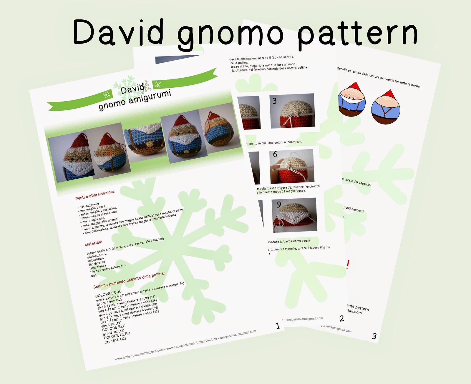 Crochet Amigurumi Pupazzo Folletto Gnomo Natale Handmade Uncinetto ... | 1305x1600