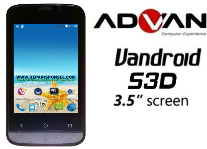 Cara Hard Reset Advan S3D