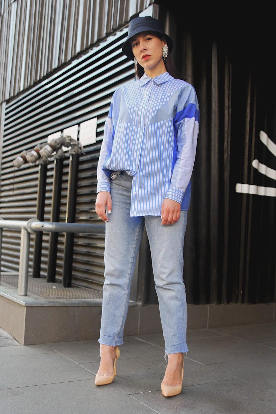 comment porter un bob, printemps, chemise oversized