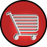 cart glowing icon