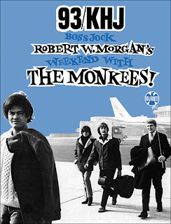 Robert W. Morgan With The Monkees Booklet (Front)