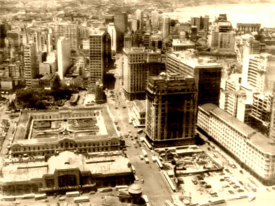 Mercado Público de Porto Alegre e Avenida Borges de Medeiros, 1950