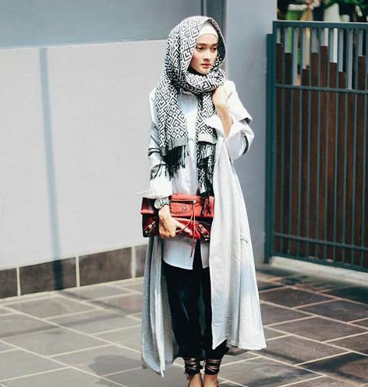 model baju hijab modis terbaru