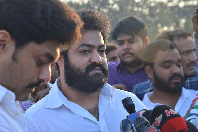 Jr ntr at NTR Ghat Photos