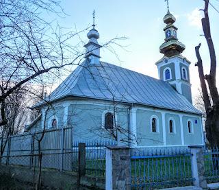 Чинадієво. Свято-Миколаївська церква. УПЦ МП