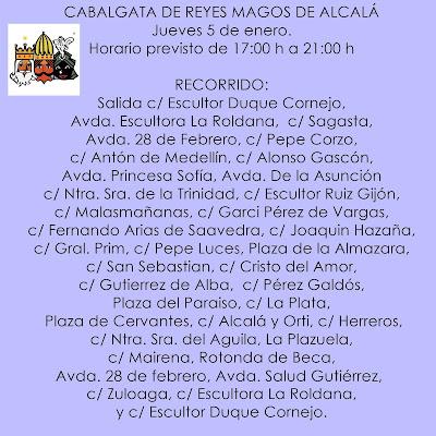 CABALGATA DE REYES MAGOS DE ALCALÁ