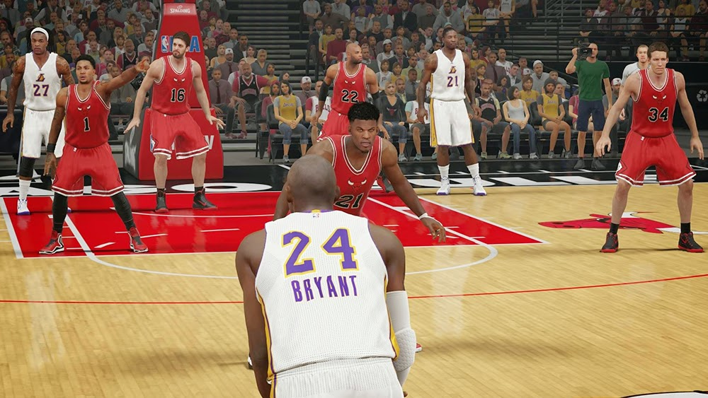 LA Lakers Christmas Jersey | NBA 2K15