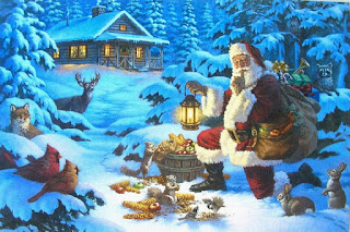 santa-plays-with-squirrels-kittens-in-village-middle-of-a-forest.jpg