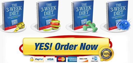 Order Now -  the 3 week diet