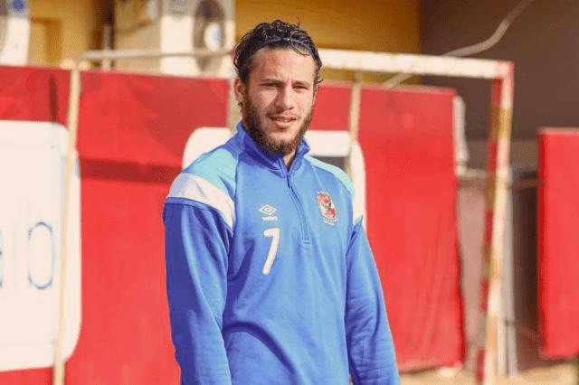 رمضان صبحي يعود لتدريبات الأهلي بعد تعافيه من الإصابة