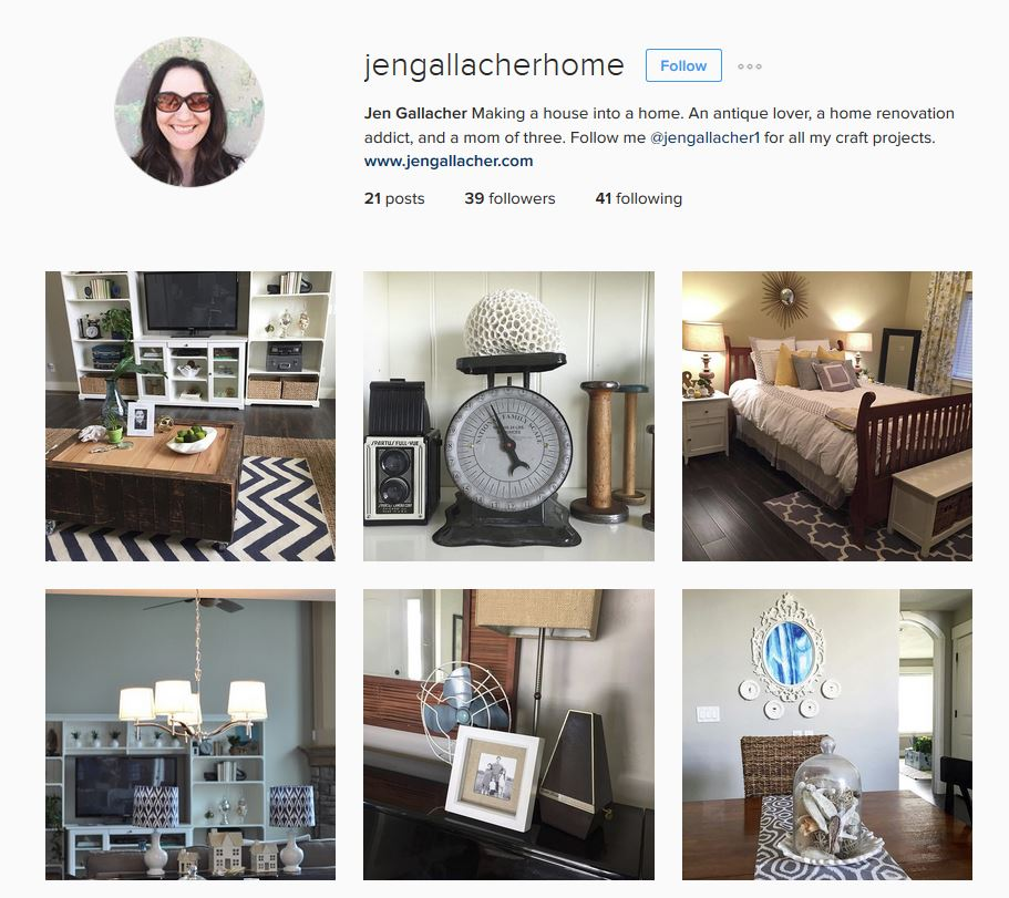 Exclusive Home Decor And Craft Ideas On Instagram Jen Gallacher