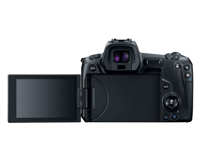 Фотоаппарат Canon EOS R, вид сзади