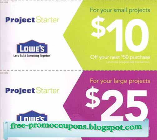 Lowes coupon online 2018