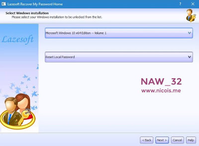Cara Reset/Mengapus/Unlock Password Akun Windows Menggunakan Hiren's BootCD