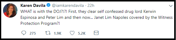 Karen Davila : The DOJ is making a mockery of us all.