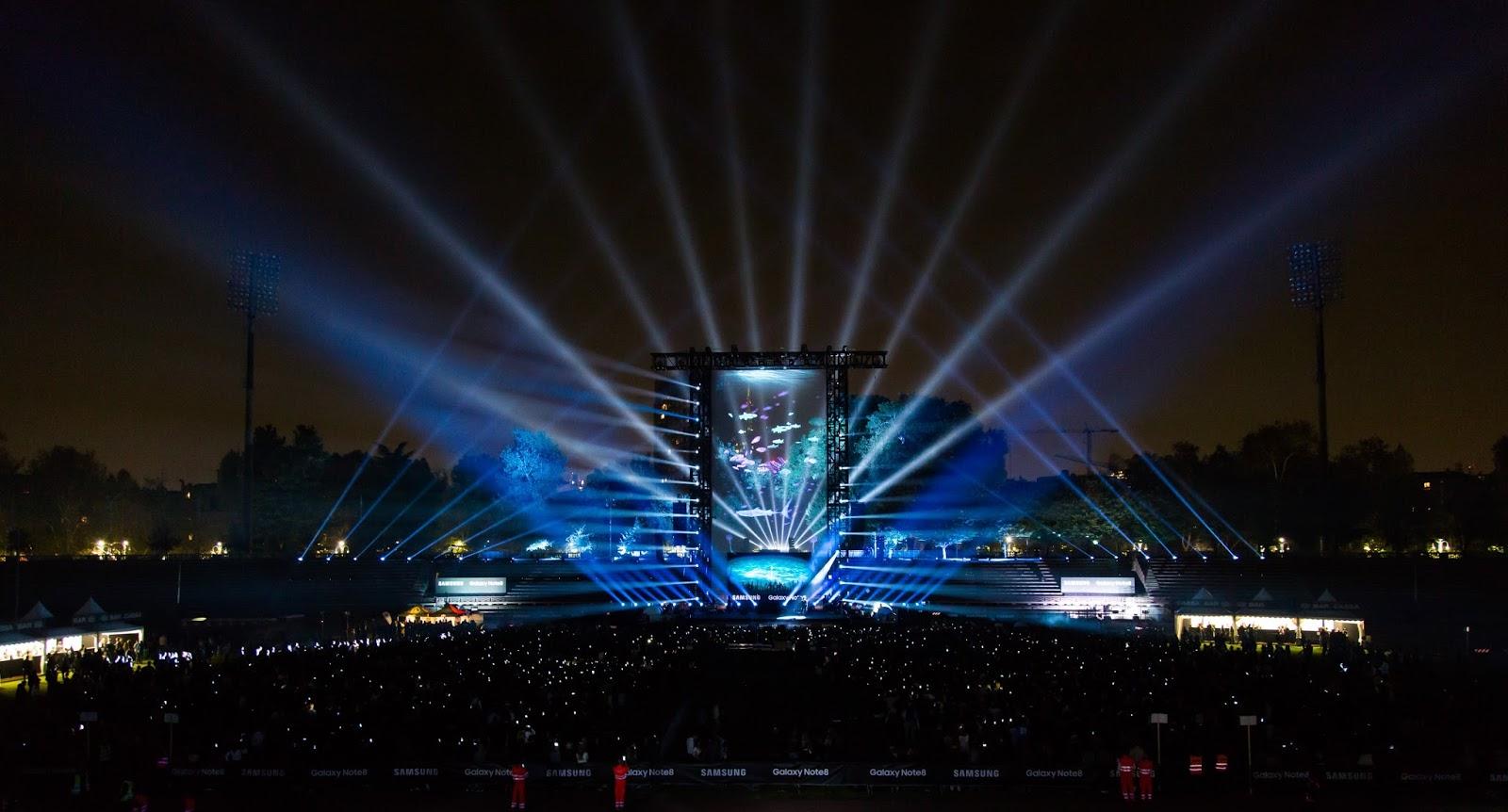 Metamorphose concept lifestyle blog a bigger show for Samsung arena milano
