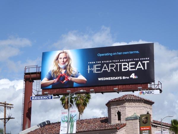 Heartbeat series premiere billboard