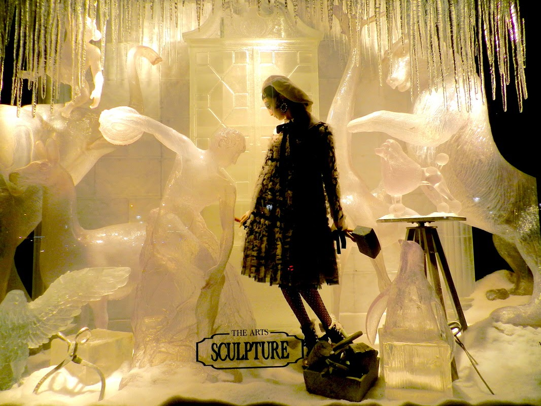 bergdorf goodman christmas window nyc display