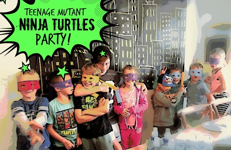 Teenage Mutant Ninja Turtles Party (TMNT)