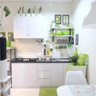 trik menata dapur mungil rumah shabby minimalis ~ hello