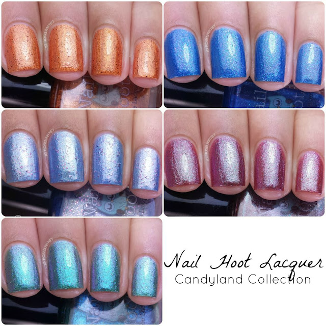 Nail Hoot Lacquer - Candyland Collection