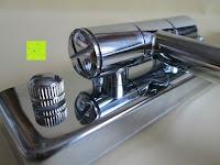 Scharnier: Jeking 8 Inch Spiegel Doppelseitiger 1-Fach /10-Fach Vergrößerung Chrom Schlafzimmer Wand Kosmetikspiegel