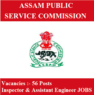 Assam Public Service Commission, APSC, Guwahati, Assam, PSC, Inspector, Assistant Engineer, Graduation, freejobalert, Sarkari Naukri, Latest Jobs, apsc logo