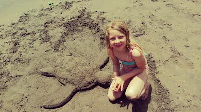 Strand, Sandschildkröte © Canarian Sea