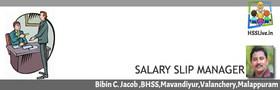 Salary Slip Manager for Schools