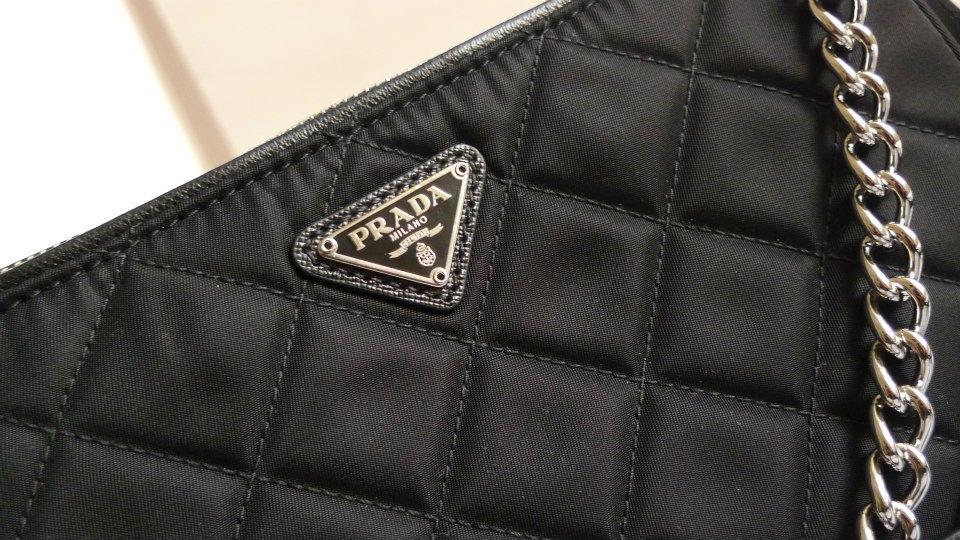 8f7ee384d9b129 I Want Bags backup: Prada BT1026 Tessuto Impuntu Quilt in Nero
