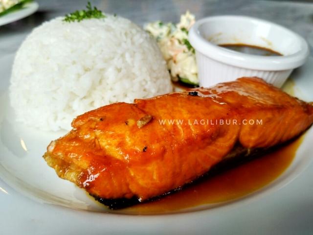Salmon Teriyaki Liberica Solo