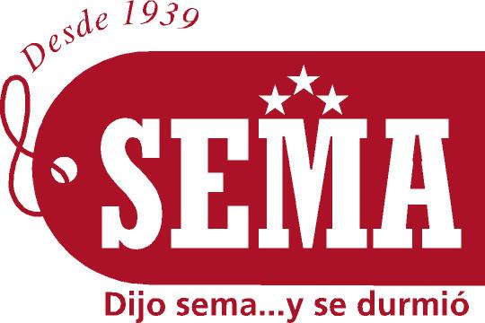 logotipo sema colchones