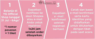 Cara mendapatkan Tiket Meet and Greet bersama Lalisa Manoban BlackPink