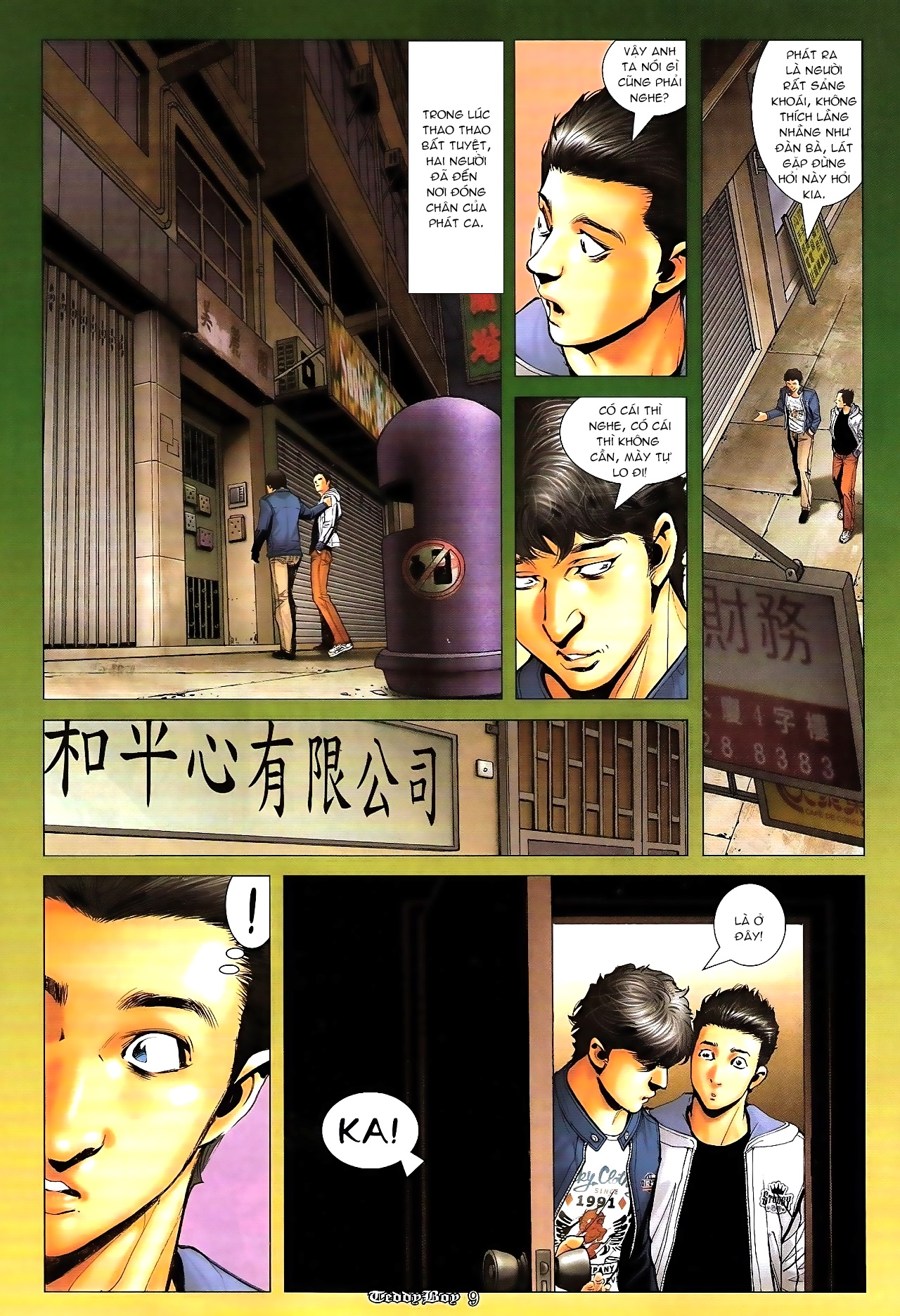 Người Trong Giang Hồ - Chapter 1286: Tứ Cửu lên Đại Đê - Pic 7