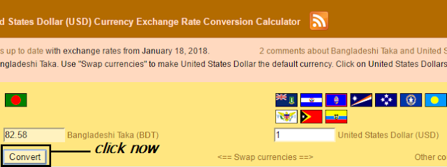 Deshi Taka Bdt And United States Dollar Usd Currency Exchange Rate Conversion Calculator