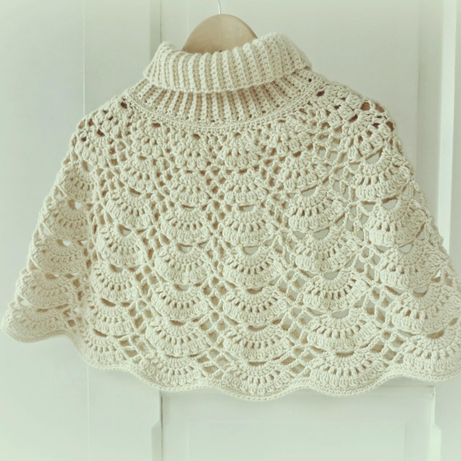 ByHaafner * crochet : Crochet Cape