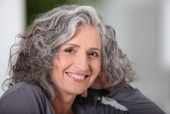Masque naturel pour cheveux gris