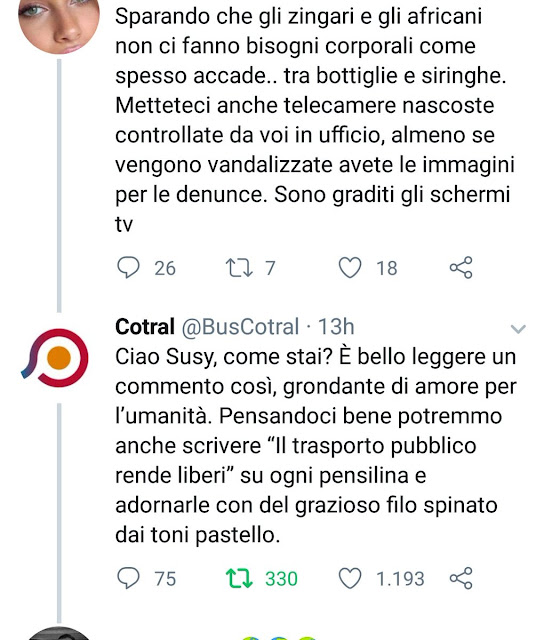 Situazione Trasporto Pubblico Roma mercoledì 6 marzo
