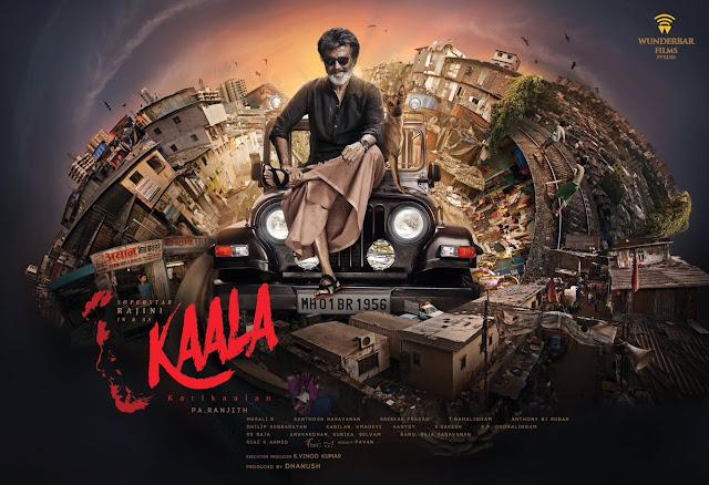 Kaala Movie First Look Posters