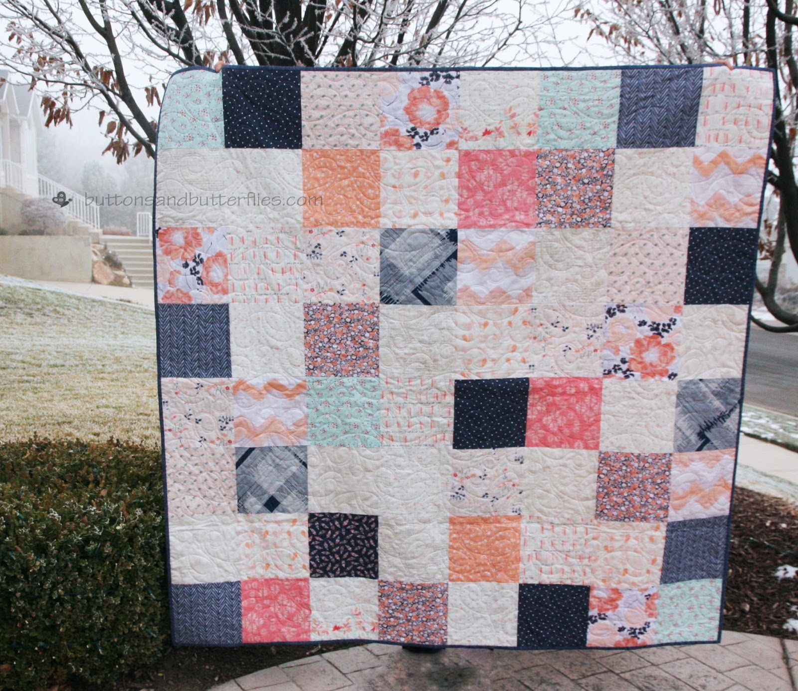 Buttons and Butterflies: The Paperie Patchwork {Quilt} : patchwork quilt meaning - Adamdwight.com